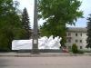 Зерноград - памятник на площади Победы