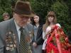 5 Баранчук Дмитрий Кузьмич возле Мемориала погибшим воинам на Каменке
